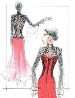 Программы для эскиз платьев