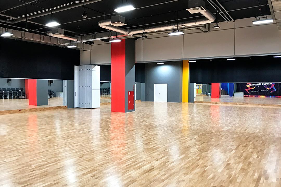 Танцевальная практика паркетный зал